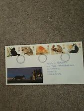 First Day Cover Cats 17.1.95
