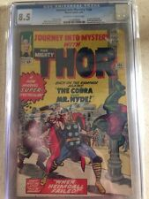 "Thor Journey into Mystery 105 CGC 8.5 Jack Kirby ""The Cobra and Mr. Hyde!"""