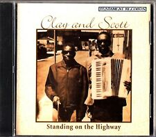 CLAY AND SCOTT- Standing On The Highway- 1998 Blues CD Accordion- TCD 5030