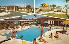 Pinellas Park Florida Sunset Mobile Home Park Trailer Park Antique PC J44084