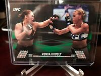 2017 Topps UFC Knockout Green #58/215 Ronda Rousey #6
