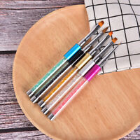 Gel Acrylic Nail Art Tips Design Painting Dotting Liner Pen Brush For Manicur w/