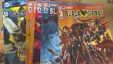 from JLA comic lot Black Hawks 2011 1-6 VF+-NM