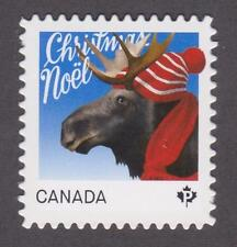 Canada 2015 #2881i Christmas Animals (Moose) - die cut Unused