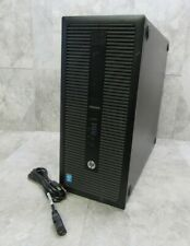 Hp 800 G1 Elitedesk Twr Desktop Tower Pc Computer i5-4590 3.3Ghz 8Gb Ram Tested!