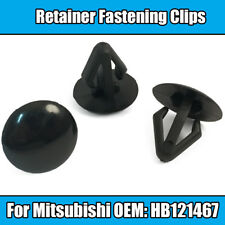 10x Clips For Mitsubishi Bonnet Hood Trim Insulation Panel Fastener Strip Seal