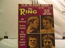 Ring Boxing Magazine 1969 Cassius Clay/Muhammad Ali,Dempsey,50 Sports Greats ph