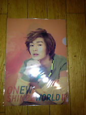 SHINEE  concert goods L HOLDER onew sm official 2012 SHINee WORLD Ⅱ in SEOUL