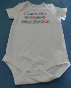 NEW BABY GIRLS SHORT SLEEVE 1 PIECE   SZ. 3/6 MONTHS