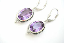 Alexandrite Earrings Sterling Silver 925 Silver Color Changing
