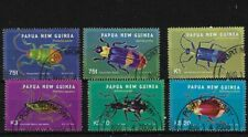 PNG SG1091/6, 2005 BEETLES, FINE USED C.T.O.