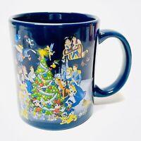 Walt Disney World Happy Holidays Coffee Mug Cup Christmas Tree Mickey Minnie