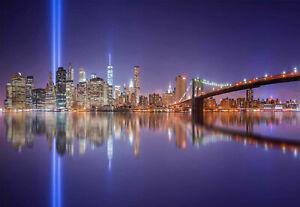 NEW YORK CITY MANHATTAN 20X30 INCH CANVAS WALL ART PRINT GIFT READY TO HANG!