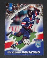 PANINI FOOTBALL CARD 98 1997-1998 BAKAYOKO MONTPELLIER HERAULT SC MOSSON MHSC