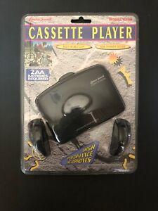 Lenox Sound Cassette Player w/ Deluxe Stereo Headphones 820M NEW