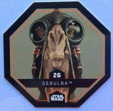 STAR WARS Jeton 26 SEBULBA Cosmic Shells E.Leclerc Collector Image