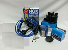 OEM Cap-Rotor-NGK Wires-Oil Filter Tune Up Kit 93-01 Honda Prelude