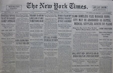 4-1931 APRIL 2 HOMELESS FLEE MANAGUA RUINS; CITY MAY BE ABANDONED AS CAPITAL