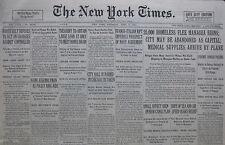 4-1931 APRIL 2 HOMELESS FLEE MANAGUA RUINS; CITY MAY BE ABANDONED AS CAPITAL