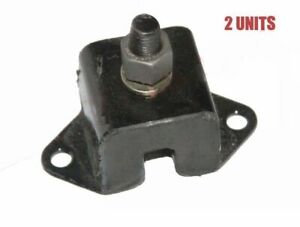 Pair Engine Mounts Nuts For Willys Ford Jeeps MB GPW M38 M38A1 CJ2A CJ3A ECs