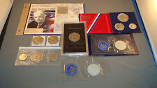 Collection, Lot of 40% Silver Eisenhower and Other (#Ye4n)