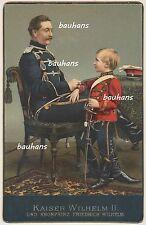KAB Kaiser Wilhelm II. und Kronprinz Friedrich Wilhelm-Color (p207)