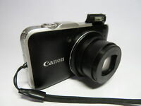 Canon PowerShot SX230 HS 12MP 14x Zoom Wide Screen GPS Digital Superzoom Camera