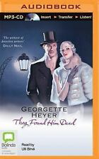 Inspector Hannasyde: They Found Him Dead 3 by Georgette Heyer (2014, MP3 CD,...