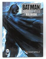 Knight Models BMG001 Batman Miniature Game Rulebook Main Rules Book DC Comics