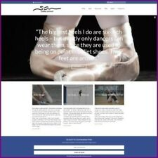 BALLET Website Business For Sale | UPTO $62.00  A SALE | FREE DOMAIN + HOSTING