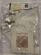 New ListingNew Longaberger Little Market Basket Liner in the Botanical Fields Fabric