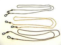 Brillenkette - Schlauchkette - Brillenband aus Metall, nickelfrei - 3 Farben