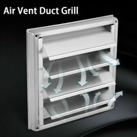 Stainless Steel Wall Air Vent Exhaust Cover Fan Outlet Tumble Dryer Extractors