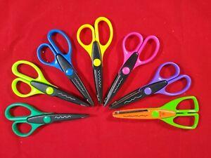 7 Edging Scissors Fancy Paper Cutting Edger Tool Crafting Scrapbooking Designs