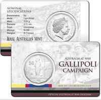2014 RAM 50 cent UNC Coin - Australia at War - Gallipoli Campaign