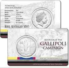2014 RAM 50 cent UNC Coin - Australia at War - Gallipoli Campaign
