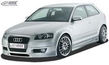"RDX Stoßstange Audi A3 8P 2003-2006 ""SingleFrame 1"" Front Schürze Vorne Spoiler"