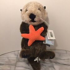 Sea Otter Plush Stuffed Animal House Orange Star Fish Kayak