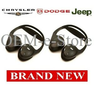 2004-2015 Dodge Grand Caravan Durango VES Entertainment Wireless Headphones TWO