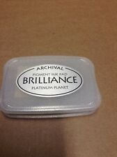 "Archival Brilliance ""Platinum Planet"" Ink pad HTF color"