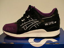 Asics Hombre Zapatillas para Correr Gel-Lyte III Size 7.5 Us Morado / Negro