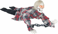 Morris Costumes Haunted Animated Decorations & Props Reaper in Chains. SS70755