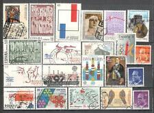 T862 - SPAGNA 1988/89 - LOTTO 20 DIFFERENTI DEL PERIODO - VEDI FOTO