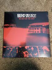 Blind Justice No Matter The Cost LP Color Vinyl Hardcore Sxe Nyhc