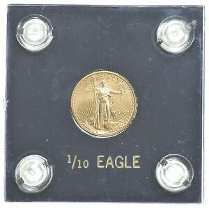 2007 $5 1/10 Oz. Gold American Eagle - Cased - U.S. Gold Coin *471