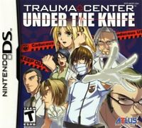 NINTENDO DS TRAUMA CENTER UNDER THE KNIFE NEW SEALED!