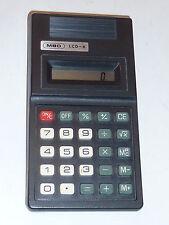 MBO LCD-8 münchen VINTAGE ancien CALCULATRICE taschenrechner OLD CALCULATOR