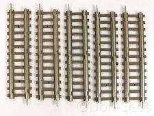 Konvolut Piko 5 Gleise gerade Hohlprofil 106 mm Schwellenband Pappe Spur H0