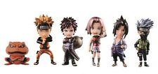 Naruto Shippuden: WCF Vol 1 Metallic Set of 5 Figures (2016) New Banpresto