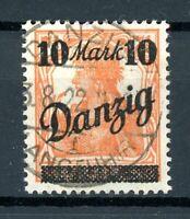 Danzig MiNr. 31 III gestempelt geprüft Gruber (xxx